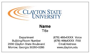 Business Cards Example