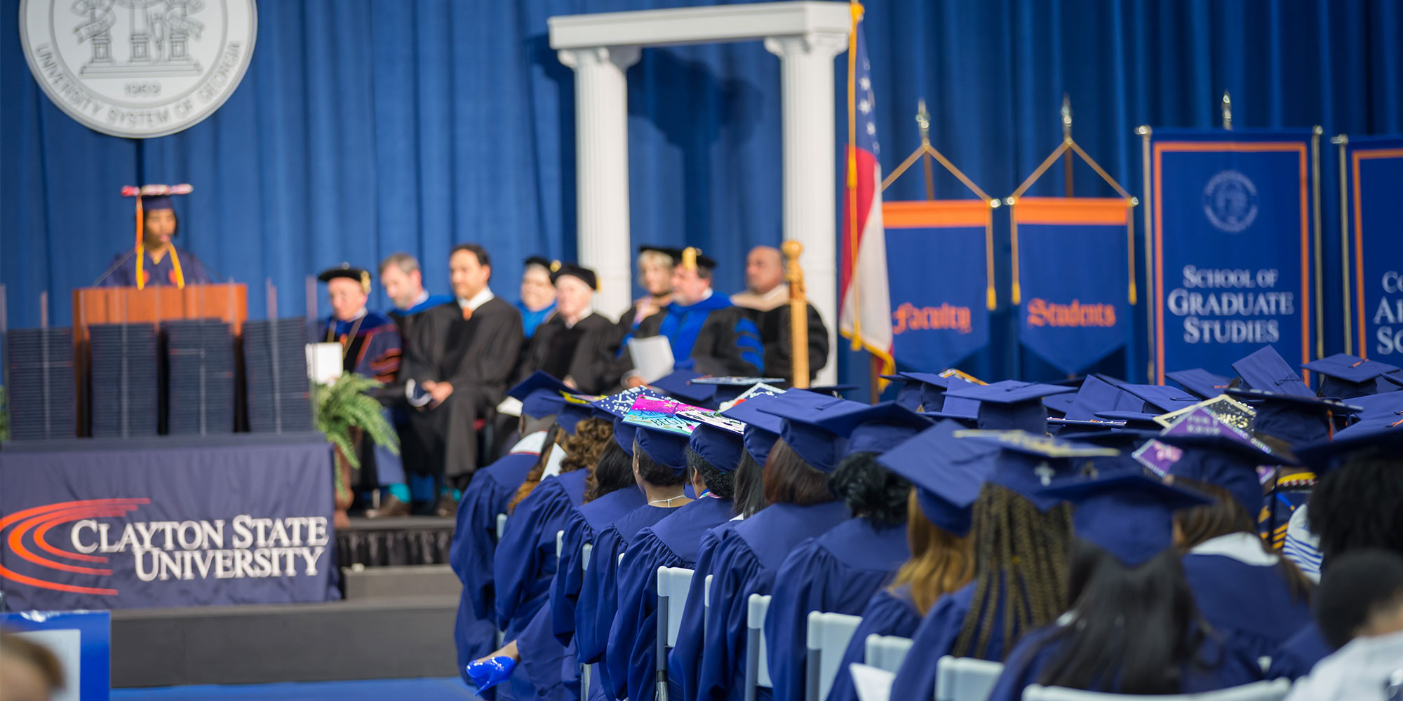 Commencement banner image