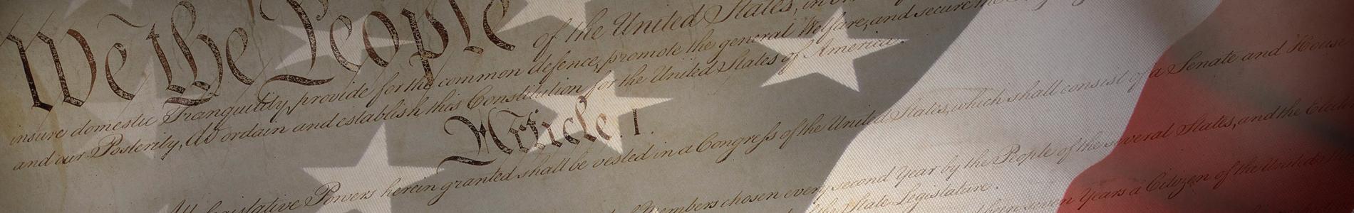Constitution Week banner image