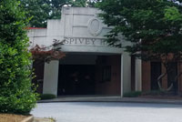 Spivey Hall entrance