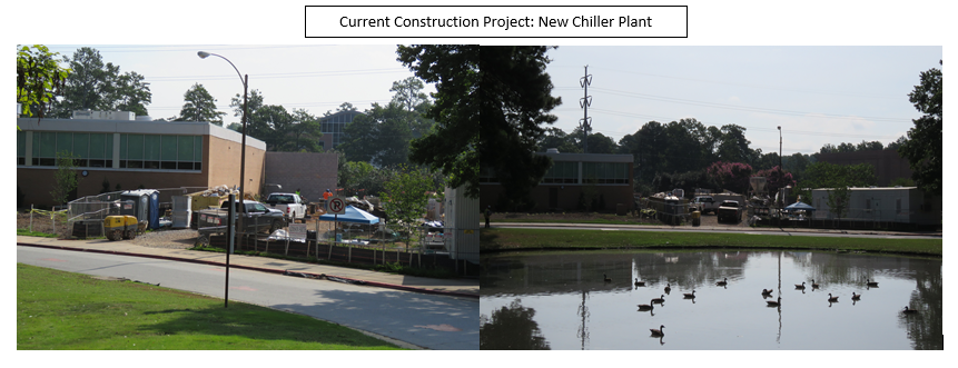 Current Construction Project: New Chiller Plant