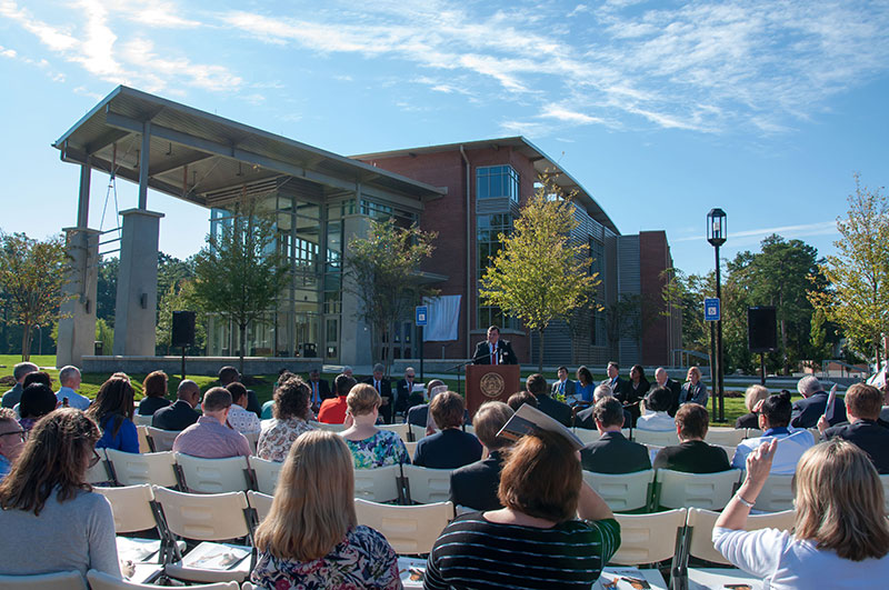 New building dedication